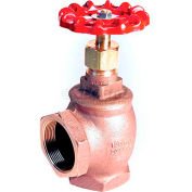 "American Valve 14n-3/4 Angle Valve, With Fip Threaded Ends, 3/4"", Bronze - Pkg Qty 6"