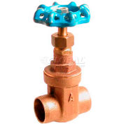 "American Valve 3s-1 Gate Valve, Sweat Ends, 1"", Bronze - Pkg Qty 12"