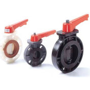 "American Valve P21-8 Butterfly Valve, EPDM, Schedule 80, 8"", PVC"