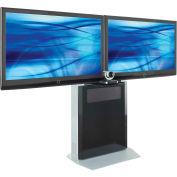 AVTEQ ELT-1500L Videoconferencing Stand, Steel, GunMetal Gray
