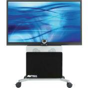 AVTEQ ELT-2100S Videoconferencing Cart, Steel, Silver
