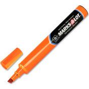 Marks-A-Lot Large Chisel Tip Permanent Marker, Orange Ink
