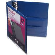 """Durable Vinyl View Binder, 1-1/2"""" Capacity, Blue"""