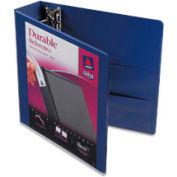 """Durable Vinyl View Binder, 2"""" Capacity, Blue"""