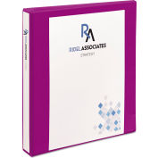 """Avery® Durable View Binder with Slant Rings, 1"""" Capacity, Purple"""