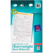 Avery® Top-Load Polypropylene Sheet Protector, Heavy, Legal, Diamond Clear, 25/Pack