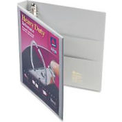 "Nonstick Heavy-Duty Ezd Reference View Binder, 1"" Capacity, Gray"