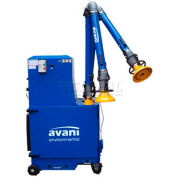 "Avani SPC-2000 Portable Filtration Unit w/ (2) 4""D x 8.5'L Powder Coated Arms"
