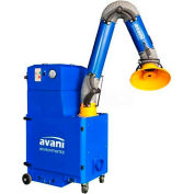 "Avani SPC-2000 Portable Filtration Unit w/ 10'L x 8""D Powder Coated Steel Arm"