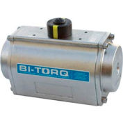 Stainless Steel Double Acting Pneumatic Actuator; 6204 In Lbs Torque