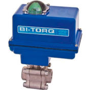 "3/4"" 3-Pc SS NPT Fire Safe Ball Valve W/Dbl. Acting Pneum. Actuator"