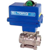 "3/4"" 3-Pc SS NPT Ball Valve W/NEMA 4 115VAC"
