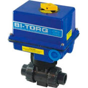 "BI-TORQ 2"" 2-Way CPVC Ball Valve W/ NEMA 4 115VAC"