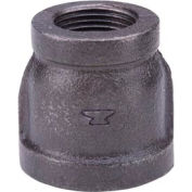 Anvil 4 In. X 1-1/4 In. Black Malleable Iron Eccentric Reducer