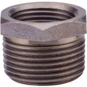 Anvil 4 In. X 1-1/2 In. Black Malleable Iron Hex Bushing