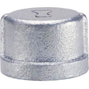 Anvil 1-1/4 In. Extra Heavy Galvanized Malleable Cap