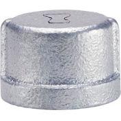 Anvil 1-1/4 In. Extra Heavy Galvanized Malleable Cap
