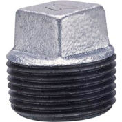 Anvil 1-1/2 Galv Ci Solid Sq Head Plug