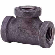 1 In. Black Malleable Tee 150 PSI Lead Free