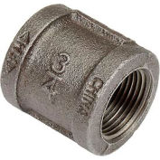 3/4 In. Black Malleable Coupling 150 PSI Lead Free