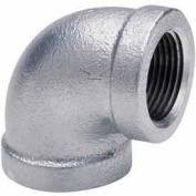 1-1/2 In Galvanized Malleable 90 Degree Elbow 150 PSI Lead Free
