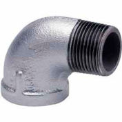 1-1/2 In Galvanized Malleable 90 Degree Street Elbow 150 PSI Lead Free