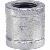 1-1/2 In Galvanized Malleable Coupling 150 PSI Lead Free