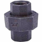 1-1/4 In. Black Malleable Union 150 PSI Lead Free