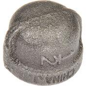 1/2 Black Malleable Cap 150 PSI Lead Free