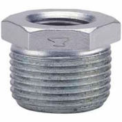 1 In X 1/2 In Galvanized Malleable HeX Bushing 150 PSI Lead Free