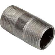3/4 In. X 2 In. Black Steel Pipe Nipple 150 PSI Lead Free
