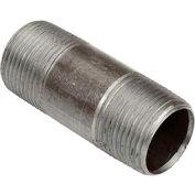 3/4 In. X 2-1/2 In. Black Steel Pipe Nipple 150 PSI Lead Free