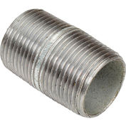 1 In X 2 In Galvanized Steel Pipe Nipple 150 PSI Lead Free
