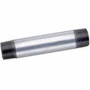1-1/4 In X 6 In Galvanized Steel Pipe Nipple 150 PSI Lead Free