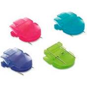 Advantus® Panel Wall Clips, 40 Sheet Capacity, Bright Colors, 20/Pack