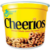 General Mills Cereal-In-A-Cup, Cheerios, 1.3 Oz, 6/Pack