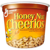 General Mills Cereal-In-A-Cup, Honey Nut Cheerios, 1.83 Oz, 6/Pack