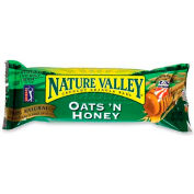 Nature Valley Crunchy Granola Bar, Oats 'N Honey, 1.5 Oz, 18/Box