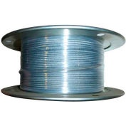"Advantage 250' 1/4"" Diameter 7x19 Galvanized Aircraft Cable GAC2507X19R250"
