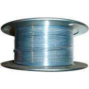 "Advantage 250' 3/8"" Diameter 7x19 Galvanized Aircraft Cable GAC3757X19R250"