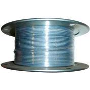 "Advantage 500' 3/32"" Dia. VC 3/16"" Dia. 7x7 Vinyl Coated Galvanized Aircraft Cable VCGAC093-187R500"