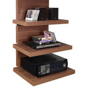 "Hollow Core AltraMount TV Stand for TVs up to 60"" Walnut Finish"