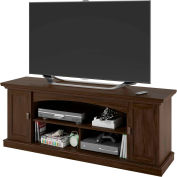 Transitional TV Stand & Media Storage Resort Cherry