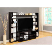 Home Entertainment Center with Reversible Back Panels
