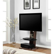 "Galaxy TV Stand with Mount for 50"" TVs Walnut Finish"