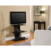 "Galaxy II TV Stand for TVs up to 32"" Espresso Finish"