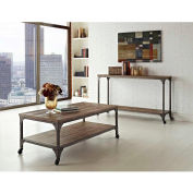 Cecil Coffee Table/TV Stand Rustic Finish