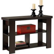 Hollow Core Sofa Table Black Forest Finish