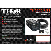 THOR TH5000 KIT1, TH5000&TH001 remote with 10 ft of 3/0 cable and lugs