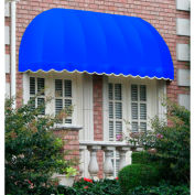 "Awntech CC33-8BB, Window/Entry Awning 8' 4-1/2""W x 3'D x 3' 8""H Bright Blue"